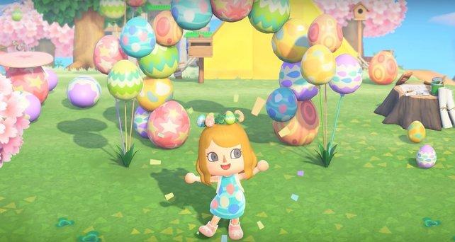 Feiert Ostern in Animal Crossing: New Horizons.