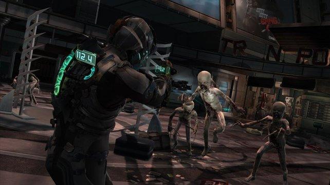 Die kindsähnlichen Necromorphs in Dead Space 2.