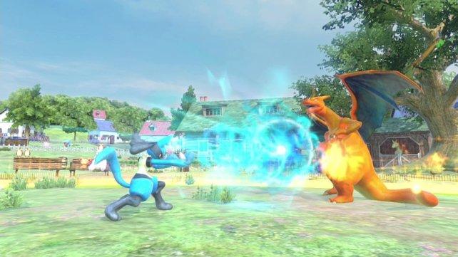 Pokémon Tekken: In dem Prügelspiel geht es deutlich actionreicher zu als in den RPGs der Hauptreihe.