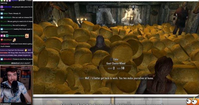 Skyrim brauch mehr Käse. Bildquelle: Doug Doug