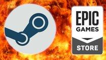 Steam beleidigt Epic auf Google