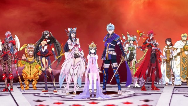 Alle Charaktere aus Tokyo Mirage Sessions #FE.