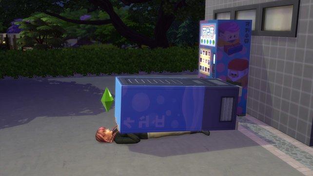 Der letzte Schlag war wohl zu heftig und hat euren Sim unter dem Verkaufsautomaten begraben. Möge er in Frieden ruhen.