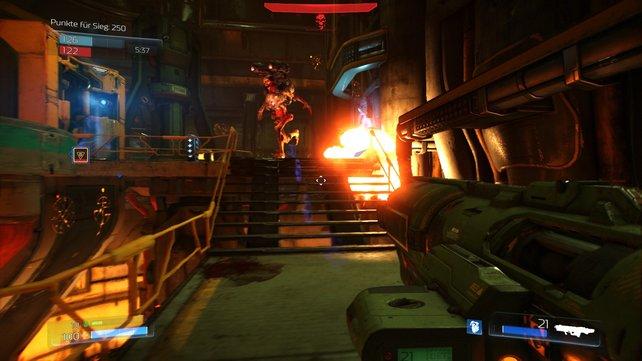 Cheats und Konsolenbefehle erweitern euer ohnehin hitziges Spielerlebnis in Doom.