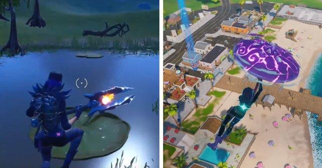 In diesem Guide zeigen wir euch, wo ihr in Fortnite Objekte mit Sprungflächen finden könnt.