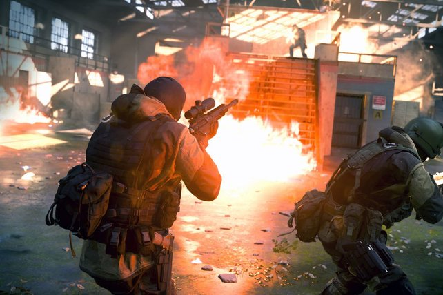 Die Multiplayer-Gefechte von Modern Warfare sind schnell und unerbittlich.