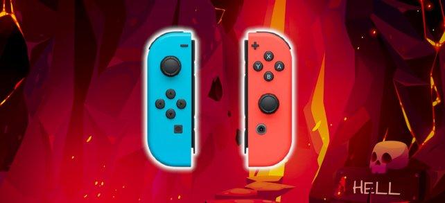 Die Joy Cons der Nintendo Switch werden auf lustige Art zweckentfremdet. Bildquelle: Getty Images / Best Content Production Group