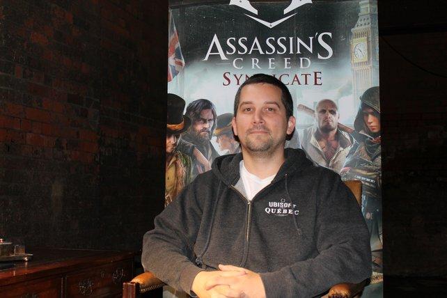 Scott Phillips hat als Projektleiter bei Ubisoft Quebec den vollen Durchblick.