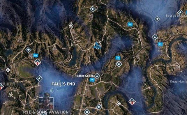 Far Cry 5 Wolfsköder Karte.Far Cry 5 Fundorte Aller Comics Auf Der Karte Spieletipps