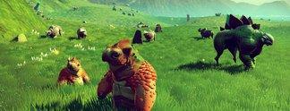No Man's Sky: Positive Bewertungen und massiver Spielerzuwachs nach Next-Update