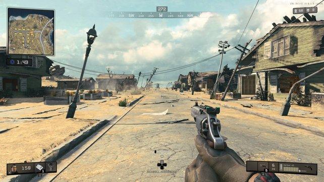 Typisch für Call of Duty: Schnelles Matchmaking, 60 fps, flotte Ladezeiten, wenig Warterei.