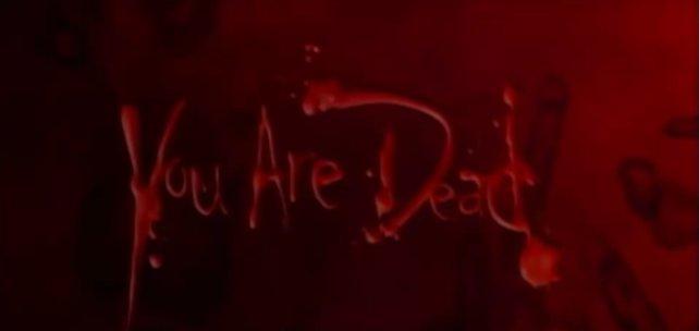 """Der """"Game Over""""-Bildschirm von Resident Evil. Keine Sorge, ihr seid nicht wirklich tot."""