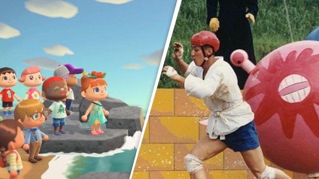 In Animal Crossing: New Horizons verwandelt ein Spieler seine Insel in einen riesigen Hindernisparcours.