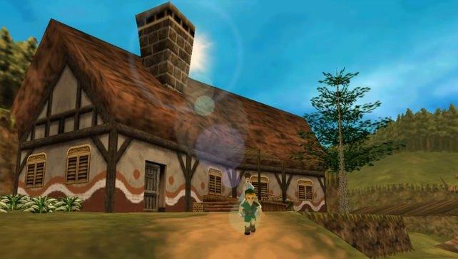 Aus The Legend of Zelda: Ocarina of Time wird ein komplett neues Spiel.