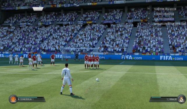Bei Freistößen müssen viele Aspekte berücksichtig werden, wir zeigen euch welche Varianten in Fifa 17 ausgeführt werden können.