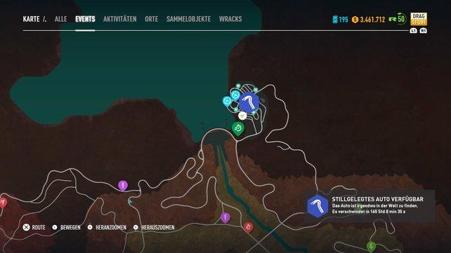 Underground Soldiers Nissan Skyline GT-R V-spec steht ganz im Norden der Karte für euch bereit.