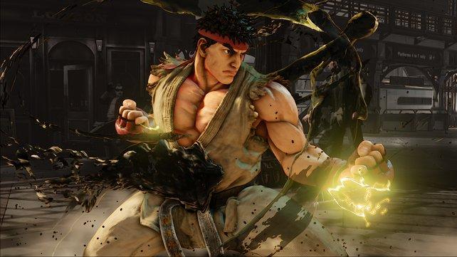 Ryu ist selbstverständlich wieder mit dabei und bereit, seine Fäuste sprechen zu lassen.