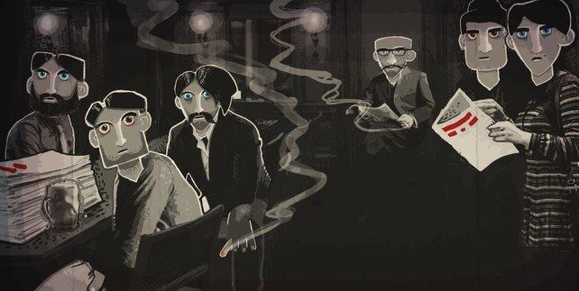 Through the Darkest of Times ist ein Indie-Spiel, das sich mit der Nazi-Zeit beschäftigt. Hier greift die so genannte Sozialadäquanzklausel.