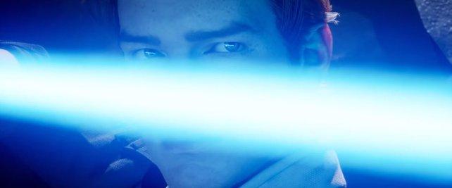Das Lichtschwert: Nicht einmal für eine Sekunde zu sehen und trotzdem das Ziel von Hohn und Spott.