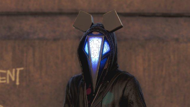 Um die Defalt-Maske zu finden, müsst ihr ein Party-Areal aufsuchen.