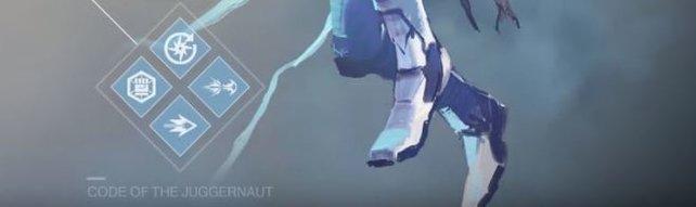 Spielt ihr als Stürmer, empfehlen wir euch den Code des Juggernauts. Der Fokus liegt zwar klar auf den Nahkampfangriffen, dafür könnt ihr mit Kills sogar eure Gesundheit regenerieren.