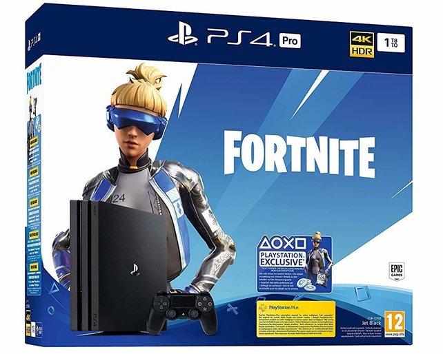 Das Bundle bestehend aus Fortnite und einer PS4 Pro ist heute im Angebot.