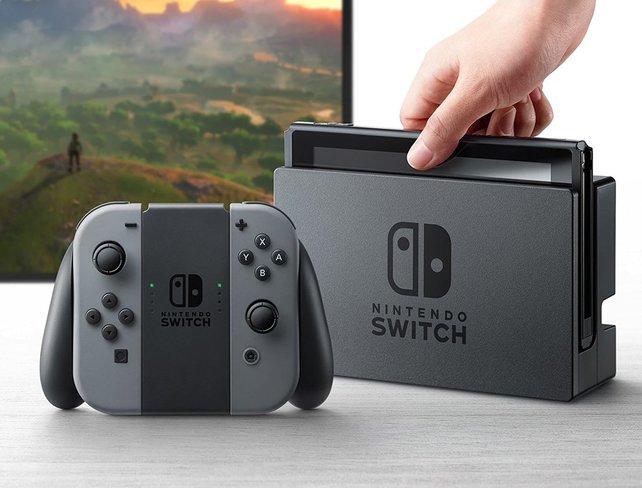 Die Nintendo Switch ist eine Handheld-Konsole.