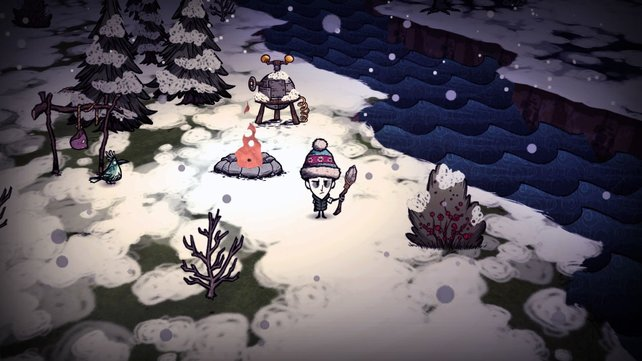 Don't Starve gilt als moderner Vetreter des Rogue-like-Genres.