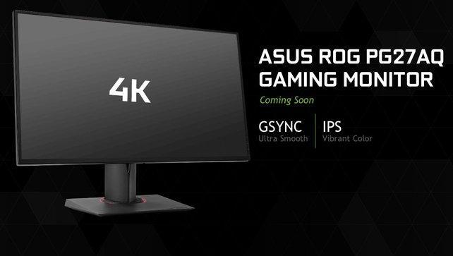 4K, G-Sync und mehr als 100 Hz sollen in den nächsten Monaten den Markt erreichen. Kostenpunkt: sehr hoch