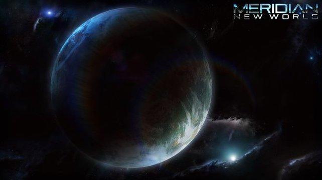 Der Planet Meridian.
