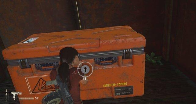 Vergesst nicht, alle fünf Kisten zu öffnen.