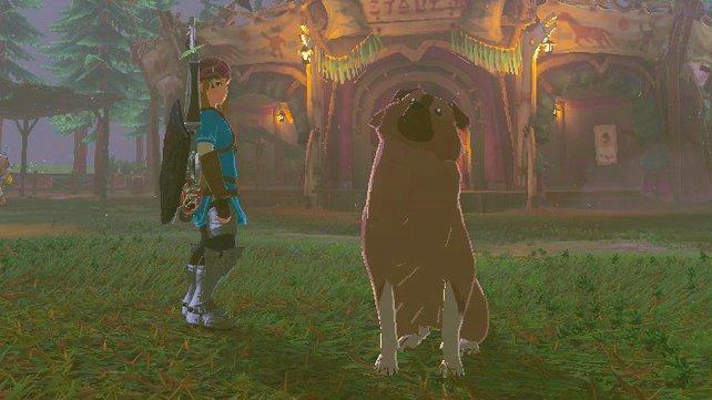 Hunde in The Legend Of Zelda: Breath of The Wild freuen sich über einen momentannen Trend.