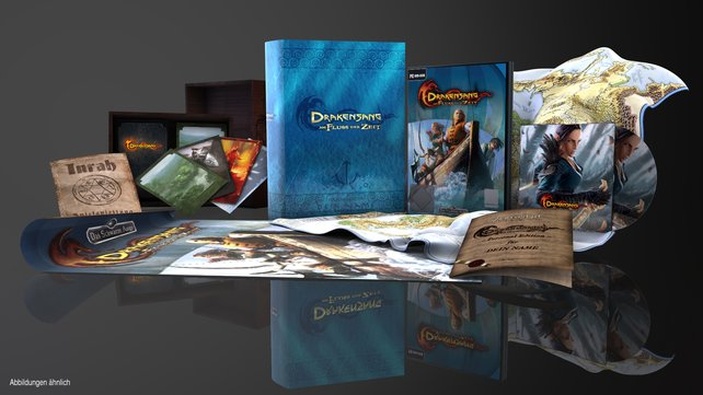Die Collectors-Edition von Drakensang 2.