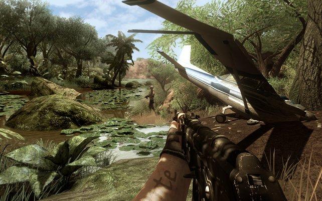 Far Cry 2 bietet ein riesiges Areal, allerdings auch viele Beschränkungen.