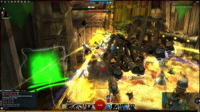 Belagerungsschlachten nehmen in Guild Wars 2 eine wichtige Rolle ein, um einen anderen Server in die Knie zu zwingen.