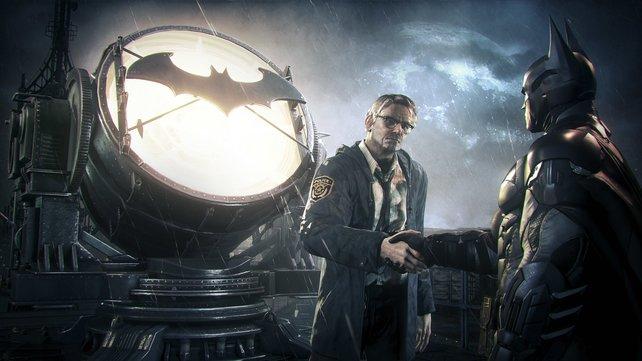 Einer von Batmans wenigen Verbündeten in Gotham: Commissoner Gordon.