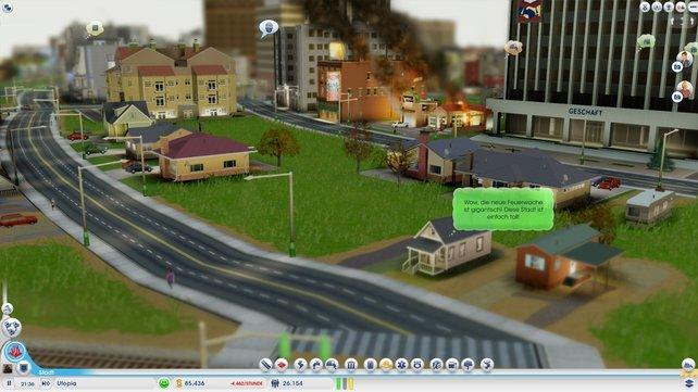Die nachbarlichen Stimmungsschwankungen - vielleicht sollte dieser Sim mal aus dem Fenster schauen.