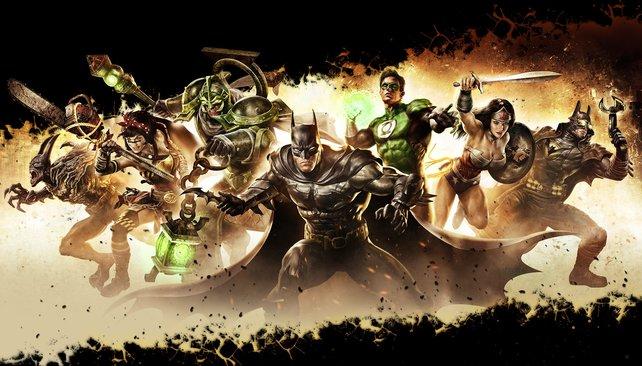 Die DC-Helden sind reif für die Arena