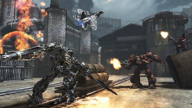 Im gemeinsamen Spiel mit Freunden macht die Roboschlacht am meisten Laune.