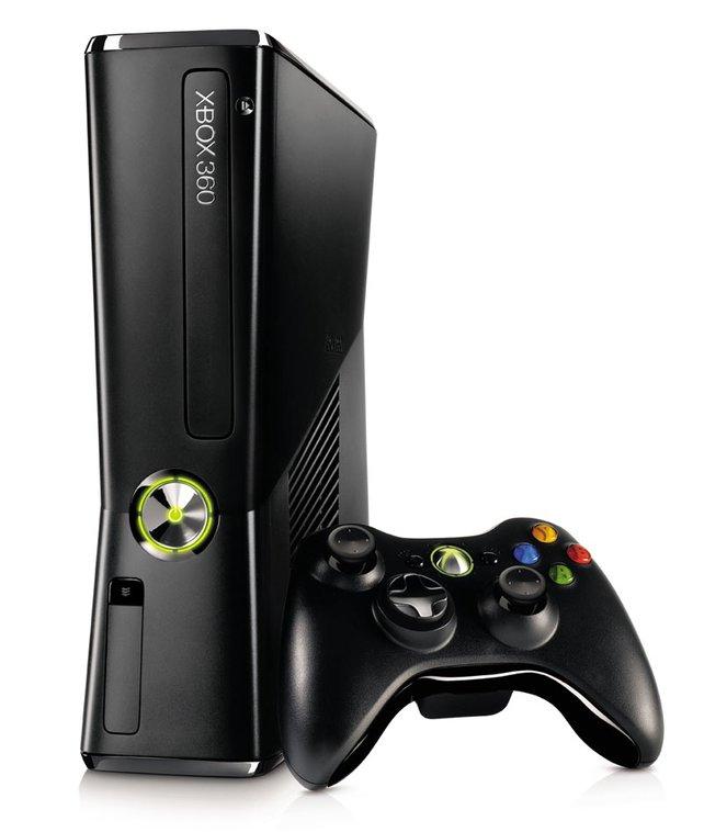 Seit Juli 2010 im neuen Design: die Xbox 360 Slim.