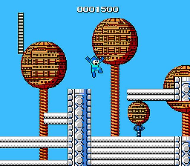 In Mega Man (1987) gibt es noch Punkte zu verdienen.