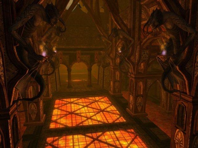 So leer werden Minen von Moria im fertigen Spiel natürlich nicht sein.