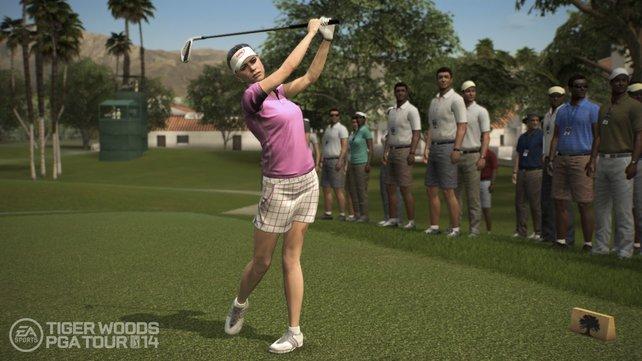 Erstmals in der Spieleserie sind Frauen am Start.