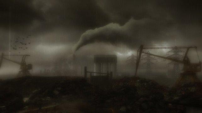 Bedrückend, ernst, furchtbar, grausam... die Atmosphäre ist zu jedem Zeitpunk düster.