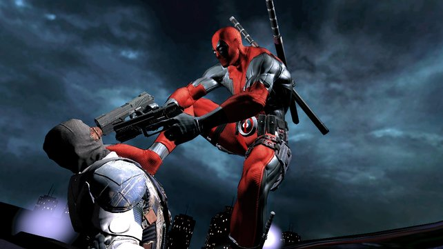 Deadpools Methoden sind brachial, aber effektiv.