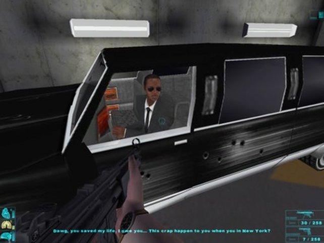 Der Chauffeur Argyle bringt John zum Nakatomi Tower