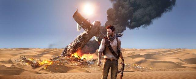 Drake verschlägt es in die größte Sandwüste der Welt.