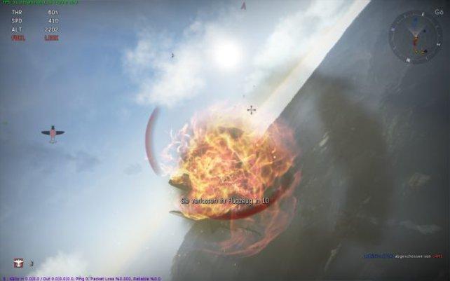 Solche Explosionen werdet ihr gerade in der Anfangszeit häufig aus der Nähe sehen.