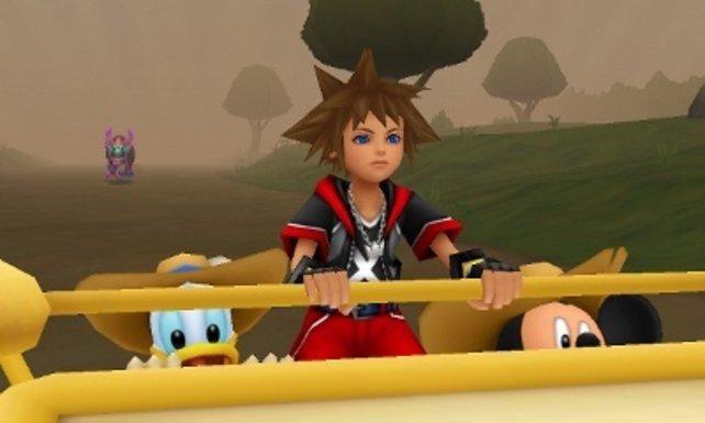Sora und Riku reisen in neue Welten.