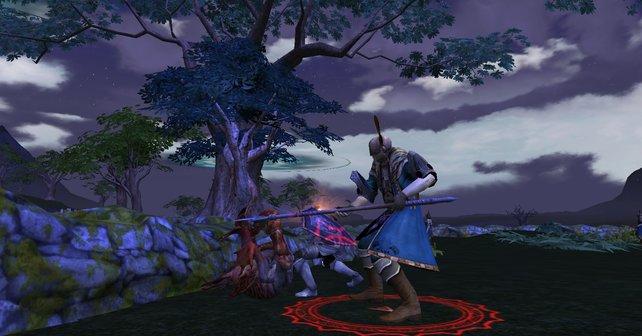 Die übersichtliche Benutzeroberfläche von Rift bieten einen leichten Einstieg in das Spiel.